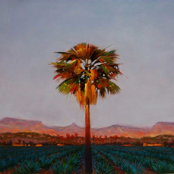 East Cape Baja Mexico 2010. 16 X 20 in. oil on canvas