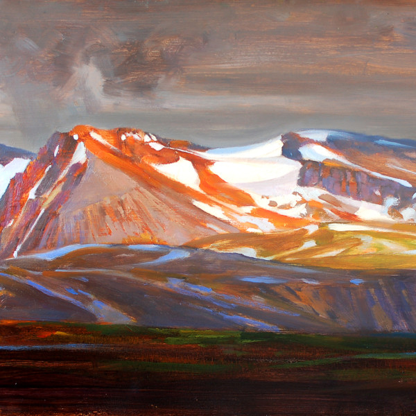 Garabaldi Provincial Park, 16 X 20 in. oil on prepared board