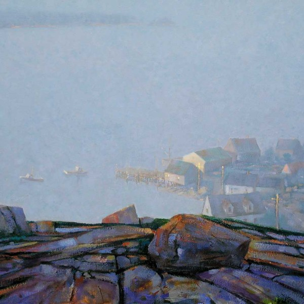 Nova Scotia, 20 X 30 in. oil on canvas. copyright Brent Lynch
