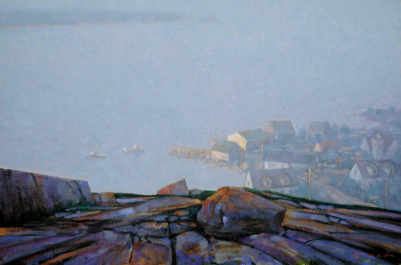 Nova Scotia, 20 X 30 in. oil on canvas. copyright Brent Lynch