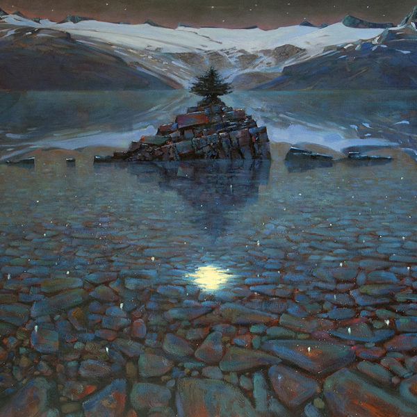 Moondance, Garibaldi Lake 36 X 48 in oil on canvas