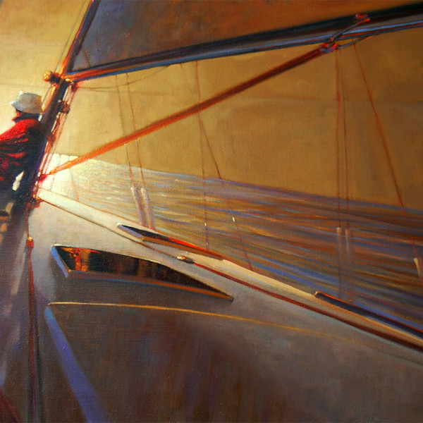 20 X 40 in. oil on canvas. copyright Brent Lynch
