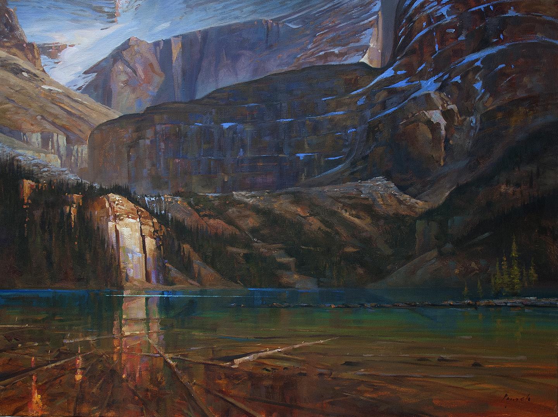 Rhythm O'Hara 38 X 48 in. oil on canvas. - The Avenue Gallery