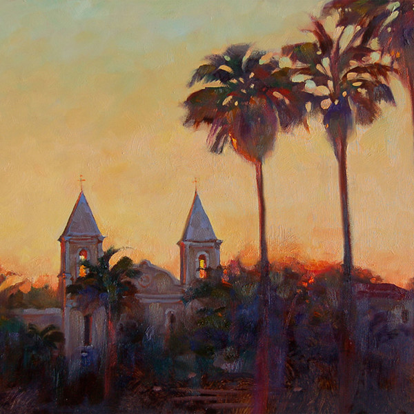 San Jose Del Cabo Baja Mexico 2000. 16 X 20 in. oil on prepared board.