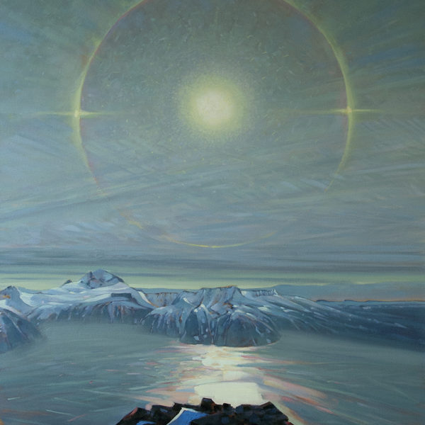 'Storm Ring' Garibaldi Lake, 48 X 36 in oil on canvas