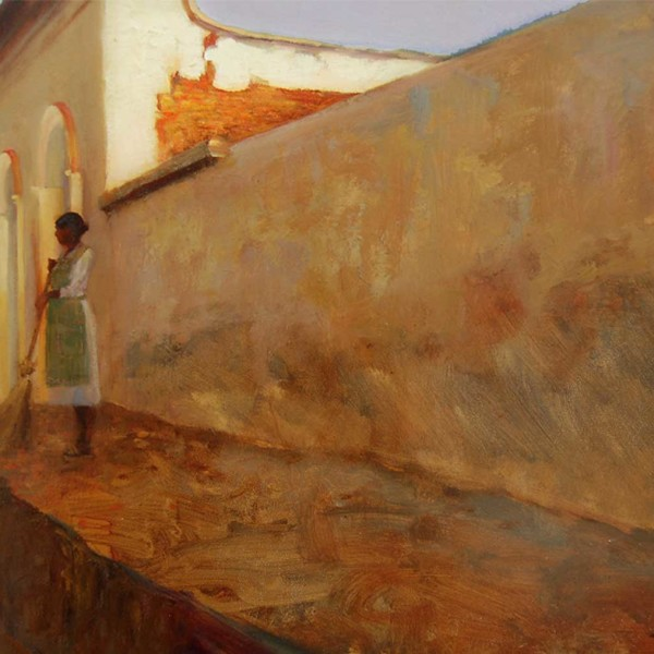 Baja Mexico, 2009. 16 X 20 in. oil on prepared board