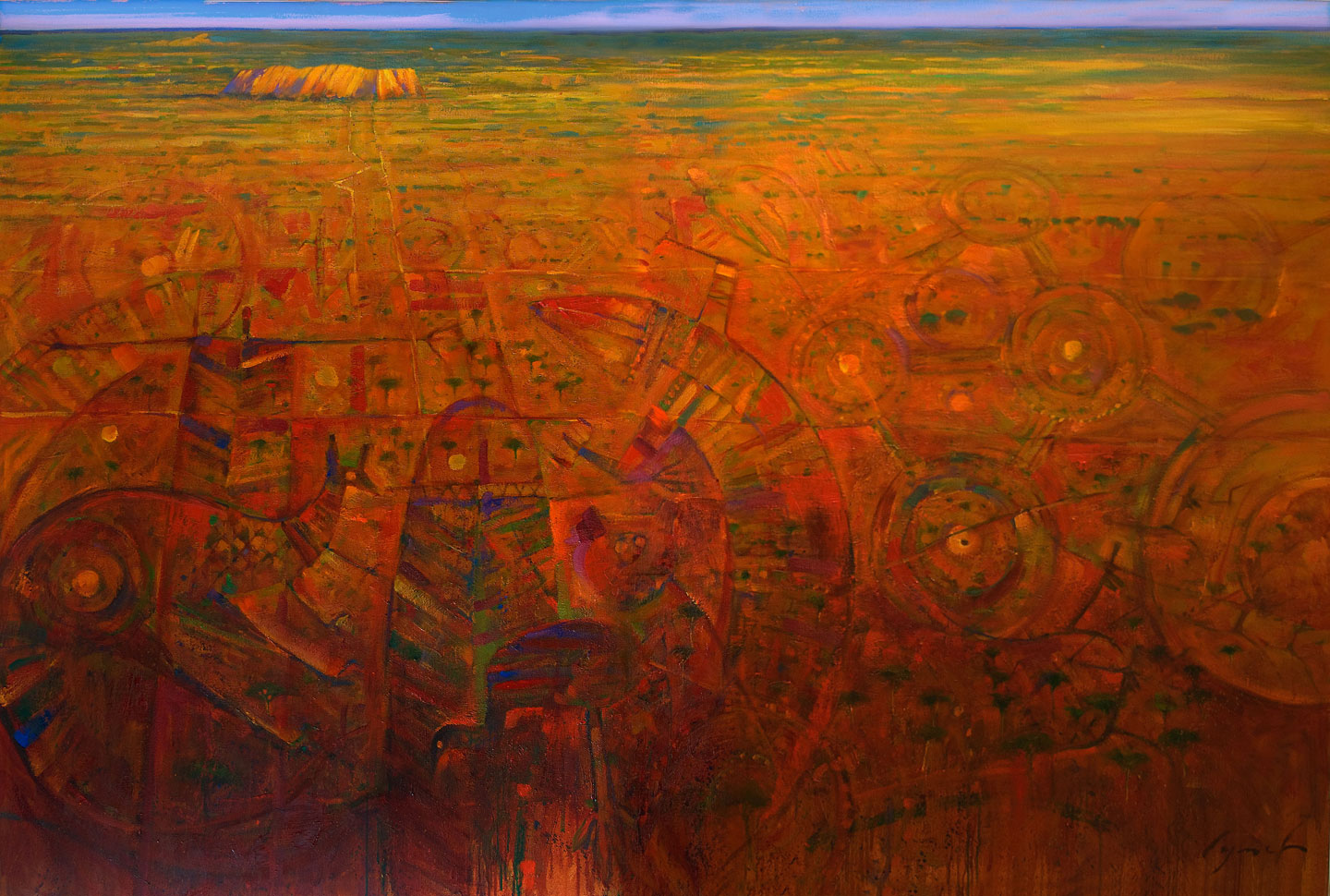 36 X 48 in. oil on canvas. copyright Brent Lynch