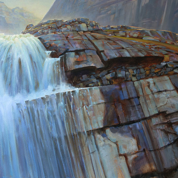 'Victoria Falls' 36 X 48 in. oil on canvas. Mountain Galleries.