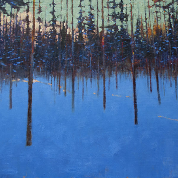 'Whistler Meadow' 18 X 24 in. oil on canvas Mountain Galleries
