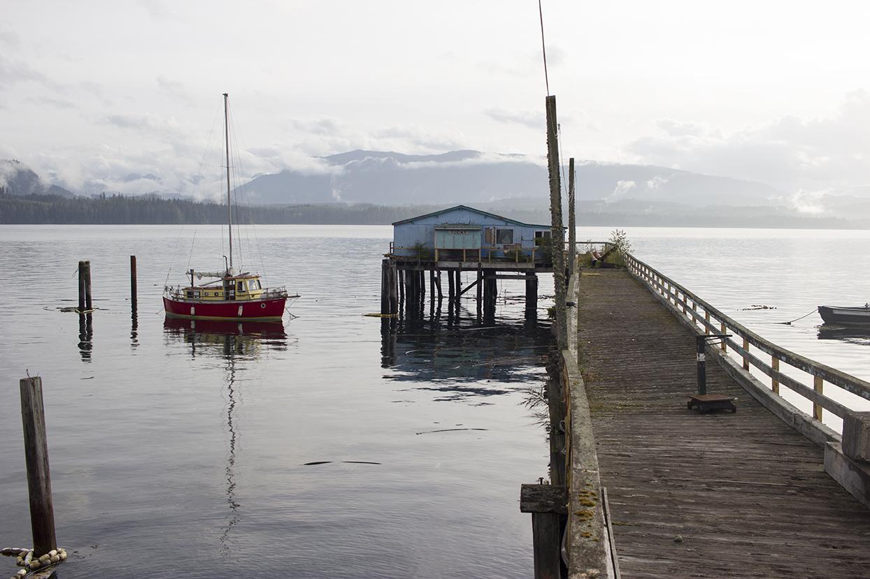shed boat Alert Bay