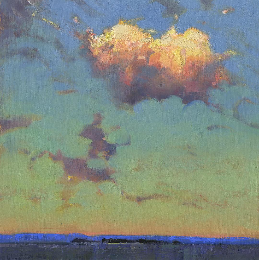 'Levon' 12 X 12 field study - The Avenue gallery