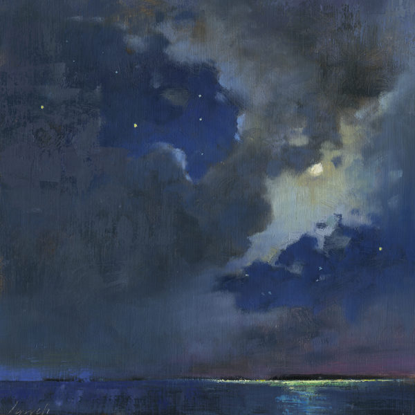'Moondance' 12 X 12 in. oil on prepared board