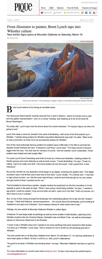 Pique Article