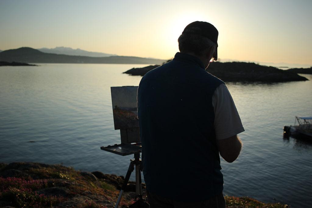 Brent sunset